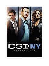CSI: New York Season 1-3 Boxset