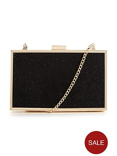 lipsy-diamanteacutenbspbox-clutch-bag