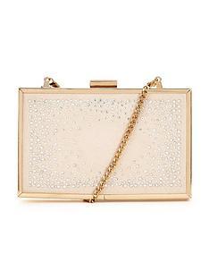 lipsy-diamante-box-clutch-bag