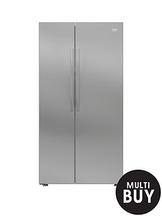 beko-ras121l-american-style-fridge-freezer-with-neofrost-cooling-technologynbsp--silver