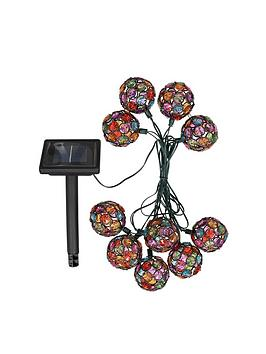Smart Garden Solar String Lights &Ndash 10 MultiGlow Gems