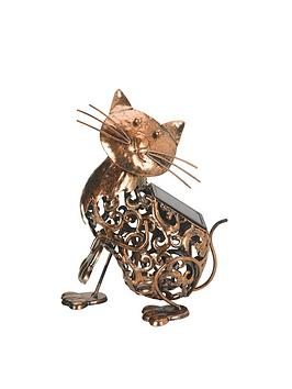 smart-garden-metal-solar-cat-light