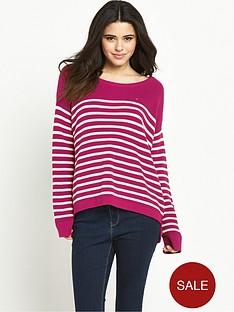 hilfiger-denim-stripe-sweater-sangria