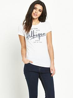 hilfiger-denim-hilfiger-denim-logo-t-shirt
