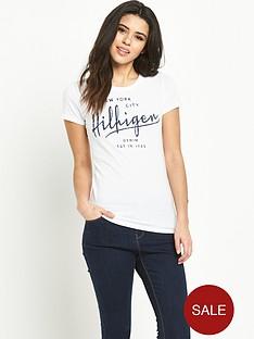 hilfiger-denim-hilfiger-denim-logo-t-shirt