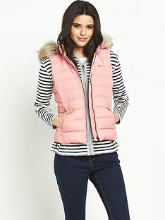 hilfiger-denim-down-vest-powder-pink