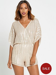 rochelle-humes-beaded-batwingnbspplaysuit