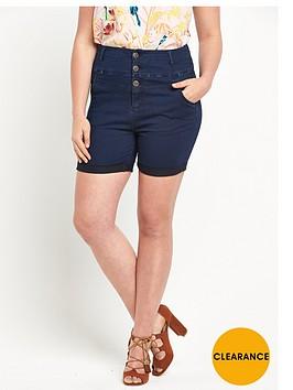 so-fabulous-super-soft-high-waist-denim-shorts