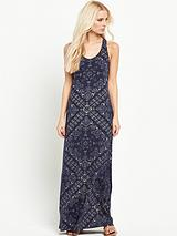 Tank Sleeveless Maxi Dress