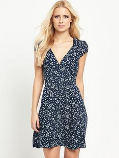 denim-supply-ralph-lauren-v-neck-sun-cap-sleeve-dress