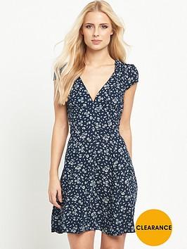 denim-supply-ralph-lauren-v-neck-sun-cap-sleeve-dress