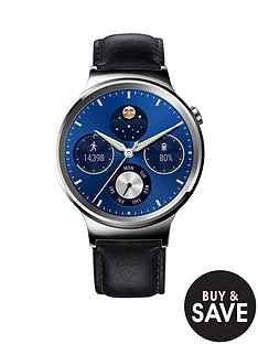 huawei-unisex-w1-classic-smart-watch-with-leather-bracelet