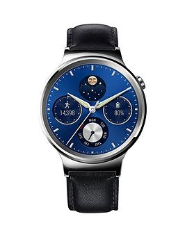 Huawei Unisex W1 Classic Smart Watch With Leather Bracelet
