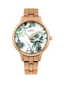 oasis-white-floral-printed-dial-rose-gold-metal-bracelet-ladies-watch