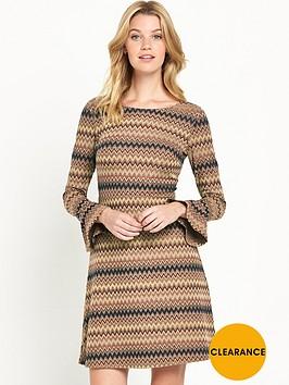 v-by-very-zignbspzag-bell-sleeve-dress