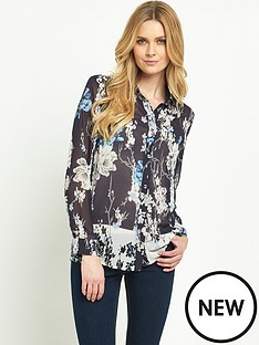 v-by-very-border-print-floral-shirt