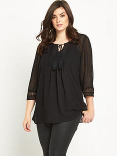 so-fabulous-boho-tassel-tie-sheer-tunic-blouse
