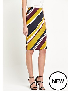 v-by-very-stripe-pencil-skirt