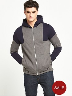 river-island-block-panel-textured-hooded-top