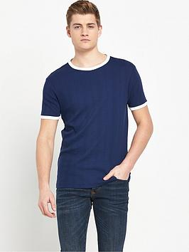 river-island-variated-rib-short-sleevenbspt-shirt