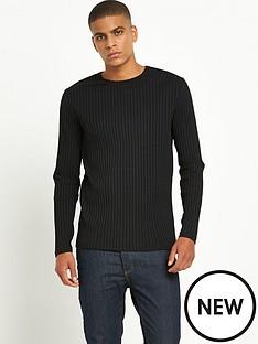 river-island-long-sleeved-chunky-rib-tshirt