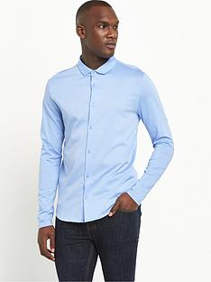 river-island-long-sleeved-button-through-jersey-shirt