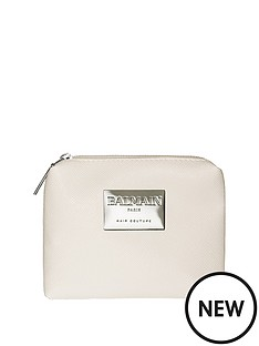 balmain-styling-line-cosmetic-bag-white