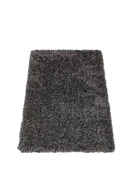 Luxe Collection Luxe Collection Luxury Tonal Shaggy Rug Picture