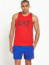 Armani EA7 big logo vest