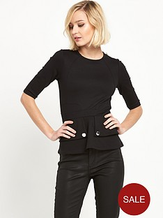 river-island-peplum-top