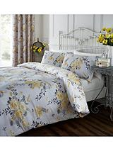 Birdcage Blossom Duvet Cover Set - Ochre