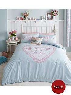 catherine-lansfield-heart-panel-duvet-cover-set-duck-egg