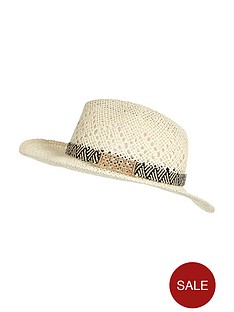 river-island-mono-metal-trim-straw-hat