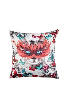 fearne-cotton-masquerade-cat-cushion-43-x-43cm