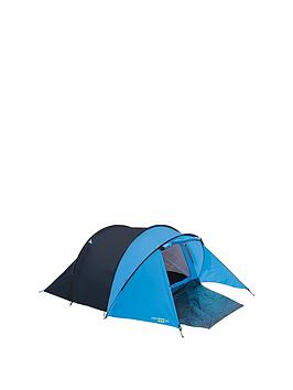 Yellowstone BlueBlack Peak 3Man Tent With Porch