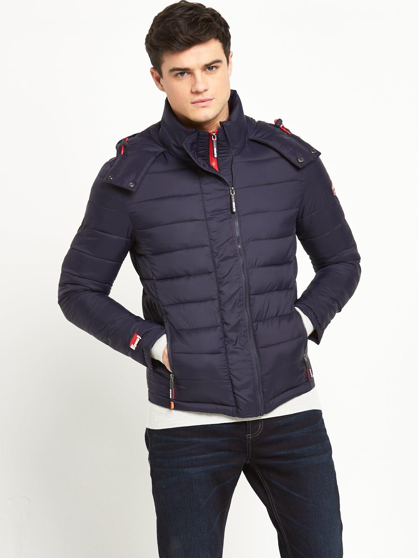 superdry fuji hooded jacket mens brick lane studios york. Black Bedroom Furniture Sets. Home Design Ideas