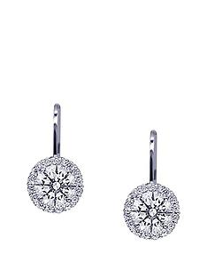carat-london-sterling-silver-1-carat-border-set-lever-back-stud-earrings