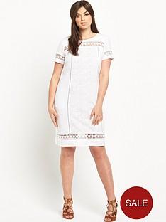 so-fabulous-linen-lace-insert-dress