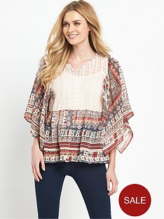v-by-very-butterfly-sleeve-printed-blouse