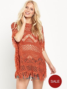 v-by-very-crochet-tassel-fringed-festival-dress