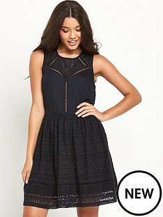 superdry-superdry-lace-panel-skater-dress