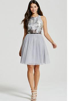 little-mistress-chloe-lewis-collection-jacquard-mesh-midi-dress