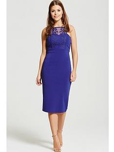 little-mistress-chloe-lewis-collection-panel-midi-bodycon-dress