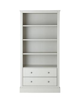 consort-dover-grey-ready-assembled-large-bookca