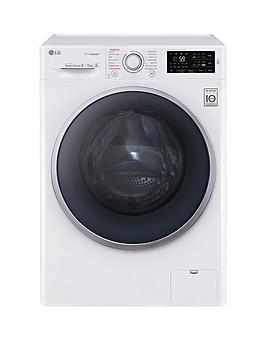 LG FH4U2TDH1N 8kg Wash  5kg Dry 1400 Spin Washer Dryer  White