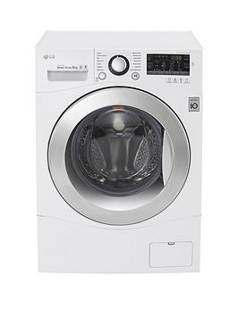 LG FH2A8TDN2 8kg Load 1200 Spin Washing Machine  White