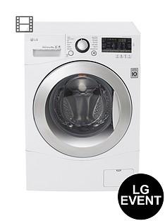 lg-fh4a8tdn2-8kg-1400-spin-washing-machine-white
