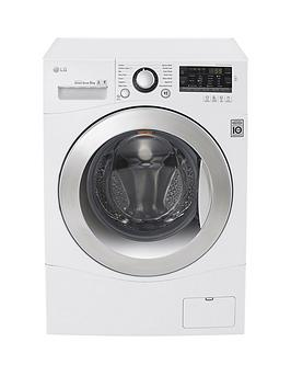 Lg Fh4A8Tdn2 8Kg Load 1400 Spin Washing Machine  White