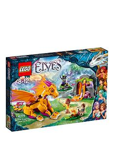 lego-elves-fire-dragons-lava-cave-41175