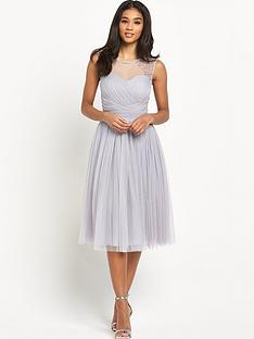 little-mistress-embellishednbspsheer-midi-dress